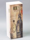 """Коробка-шкатулка """"Voyage London"""" для чаю та цукру, 3 секції, 9х24см"""