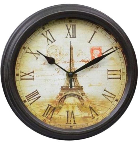 """Часы настенные """"Welcome to Paris"""" Ø23.7см"""