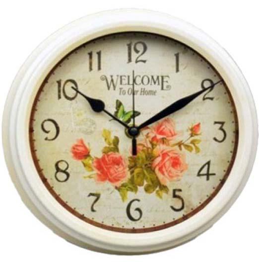 """Часы настенные """"Welcome to our Home"""" Ø23.7см"""