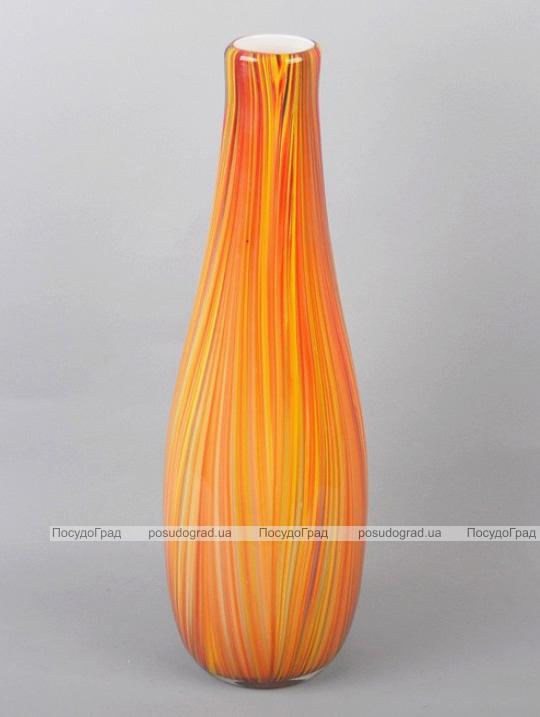 Ваза стеклянная Motley Pumpkin dribble 50см