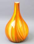 Ваза стеклянная Motley Pumpkin extended 32см