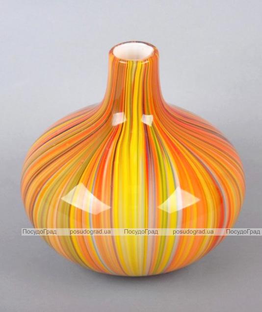 Ваза стеклянная Motley Pumpkin 20см