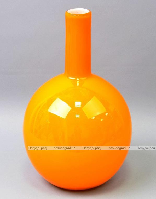Ваза стеклянная Monophonic Bulb 37см