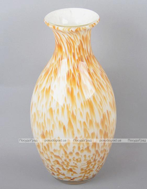 Ваза стеклянная Motley Jar 34см Золотая