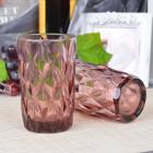 Набор 6 стаканов Gothic Colored Bronze 350мл, универсальные