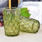 Набор 6 стаканов Gothic Colored Green 350мл, универсальные