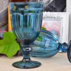 Набор 6 бокалов Gothic Colored Blue 475мл для вина