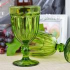 Набор 6 бокалов Gothic Colored Green 475мл для вина