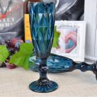 Набор 6 бокалов Gothic Colored Blue 150мл для шампанского