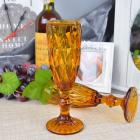 Набор 6 бокалов Gothic Colored Bronze 150мл для шампанского