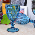 Набор 6 бокалов Gothic Colored Blue 320мл для вина
