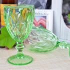 Набор 6 бокалов Gothic Colored Green 320мл для вина