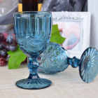 Набор 6 бокалов Gothic Colored Blue 280мл для вина