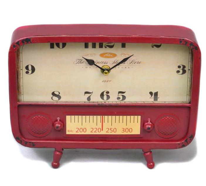 """Часы настольные """"Red radio"""" 20x26x5см"""
