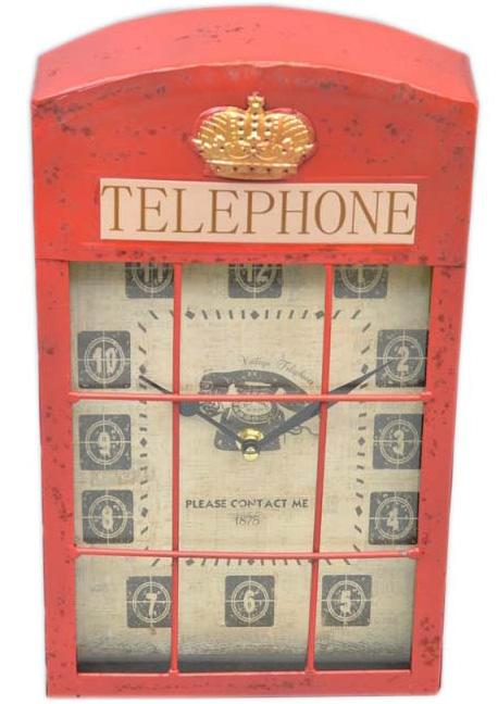 """Часы настенные """"Telephone"""" 35x20x6см"""