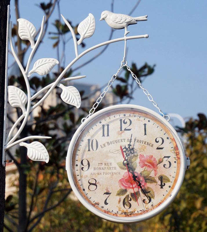 """Часы подвесные """"Le Bouquet"""" 23x10см"""