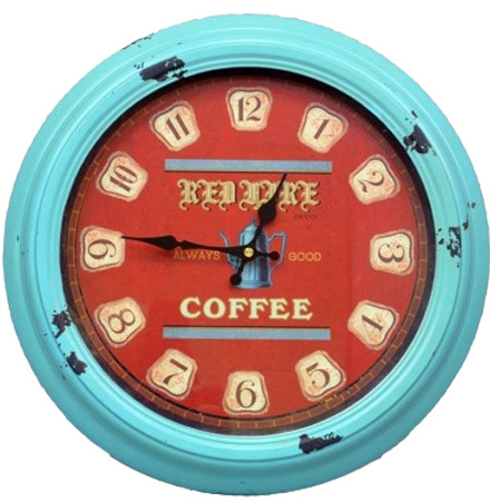 "Часы настенные ""Coffee"" 36x5см"