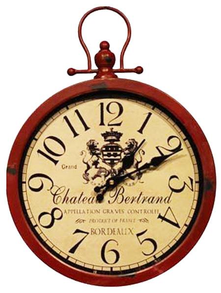 """Часы навесные """"Grand Vin"""" Red 42x31x4см"""