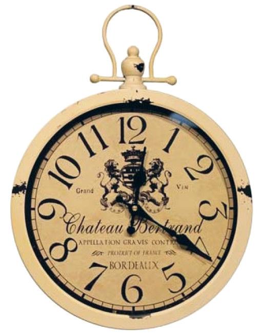 """Часы навесные """"Grand Vin"""" White 42x31x4см"""