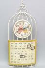 """Часы настенные """"Совушки"""" с календарем 60x26см"""