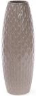 Ваза керамическая Stone Flower 39см, песочного цвета