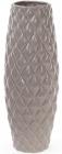 Ваза керамическая Stone Flower 39см, темно-бежевый глянец