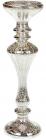 Підсвічник скляний Erwig з LED підсвіткою 30х9см