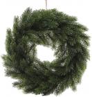 """Новогодний декоративный венок """"Хвойный"""" Ø40см, искусственная хвоя"""