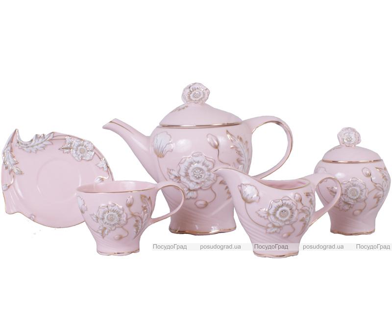 Чайный набор Pink Princess Bon 200мл 15 предметов