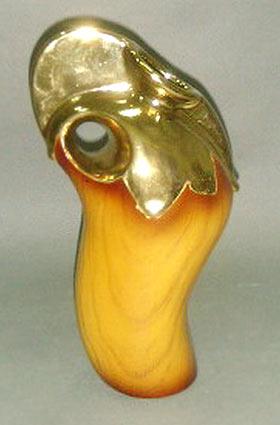 Ваза керамическая Gold Snag