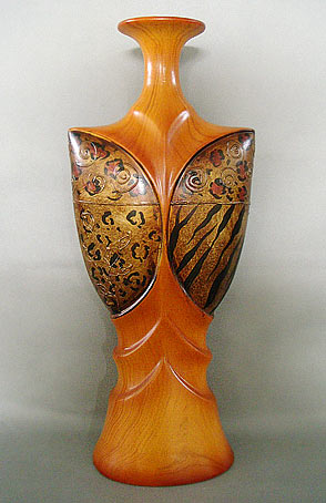 Ваза керамическая Cup with copper
