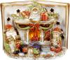 Декор керамический книга «Merry Christmas» с LED подсветкой 24х12.5х18см