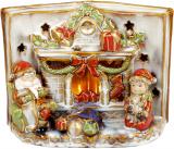 Декор керамічний книга «Merry Christmas» з LED підсвічуванням 24х12.5х18см