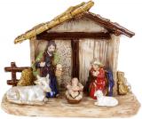 Рождественская композиция «Вертеп» 26.5х12х21.5см, керамика