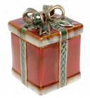 Банка керамическая «Подарок» 1л, 13х13х17см