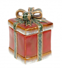 Банка керамічна «Подарунок» 350мл, 10х10х14см