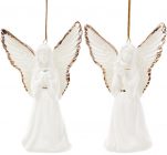 """Підвісна порцелянова статуетка """"Ангел"""" 10.5см"""