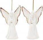 """Подвесная фарфоровая статуэтка """"Ангел"""" 10.5см"""