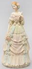 """Статуетка декоративна """"Дівчина на балу"""" 31см, штучний камінь"""