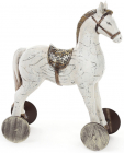 "Статуетка декоративна ""Дитяча конячка"" 28см, світла"
