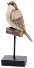"""Декоративна статуетка """"Птах на жердині"""" 13.5х7х28см"""