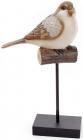 """Декоративна статуетка """"Птах на жердині"""" 19.5х10.5х33.8см"""