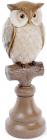 """Декоративна статуетка """"Сова на гілочці"""" 10х10.3х31см"""