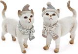 "Статуетка ""Кішечка в шапці"" 19.5х7.5х17.5см"