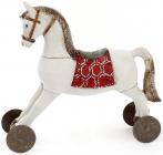 """Фігурка декоративна """"Конячка на коліщатках"""" 17х5.5х15.5см"""