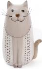 """Набір 2 декоративні фігурки """"Кіт з вусами"""" 11х8х17.5см"""