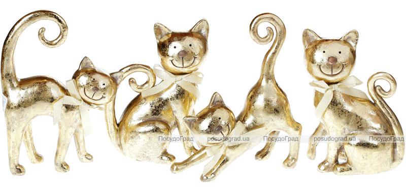 """Набор 2 статуэтки """"Золотые котята"""" 20.5см"""