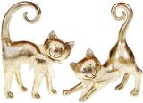 "Набір 2 статуетки ""Золоті кошенята"" 20.5см"