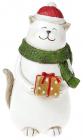 "Статуетка ""Котик з подарунком"" 22см"