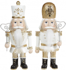 "Набір 2 статуетки ""Лускунчик"" Gold 9х6.5х22см"